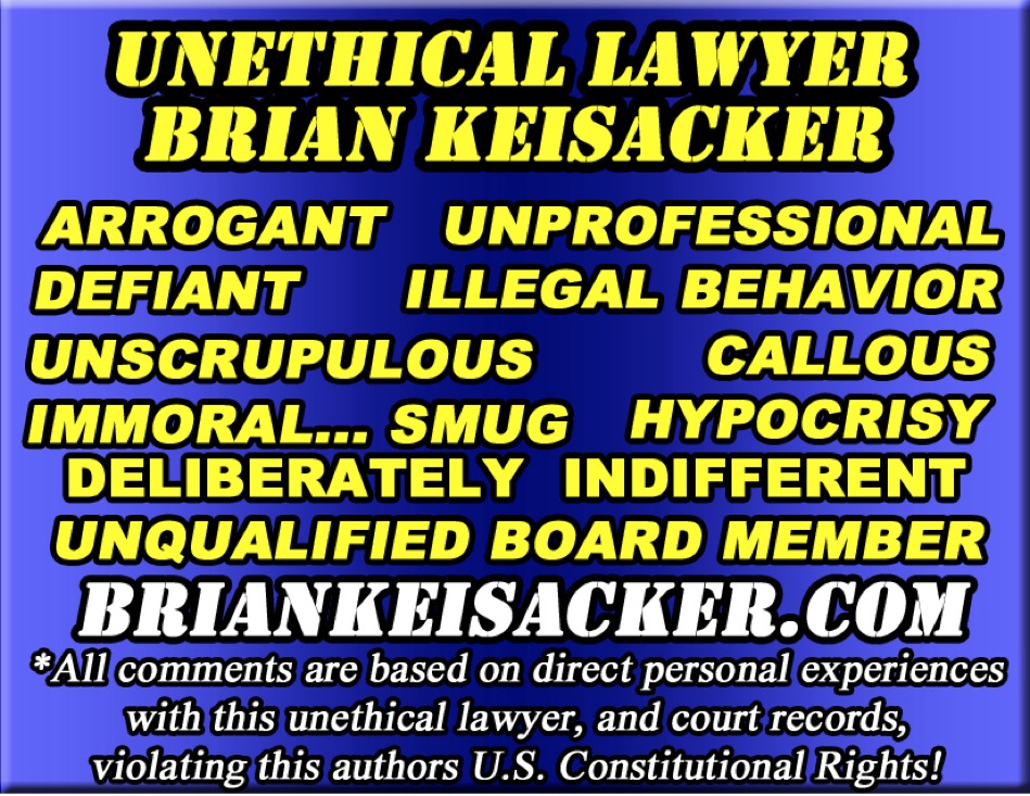Brian Keisacker Unqualified